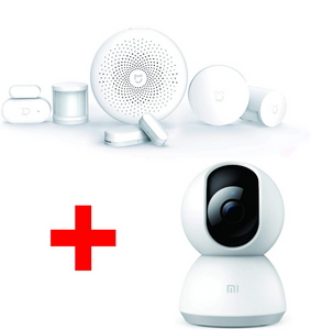 PACK SECURITE XIAOMI + Camera 360° 1080P
