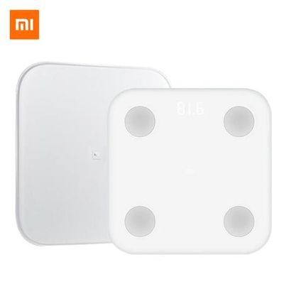 Xiaomi Mi Body Composition Scale 2 Blanc surface en verre