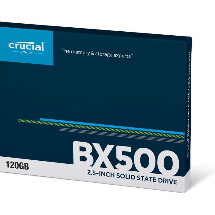 """Crucial SSD 120Go BX500 Sata 2""""5"""