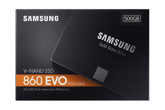 "Samsung SSD  Interne ( 500 Go ) 860 EVO SATA III 2.5"" MZ-76E500B/EU"