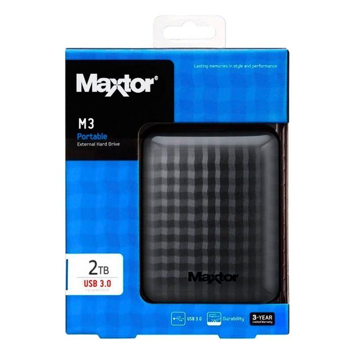 Maxtor Disque Dur Externe 2 to USB 3.0 Noir - STSHX-M201TCBM