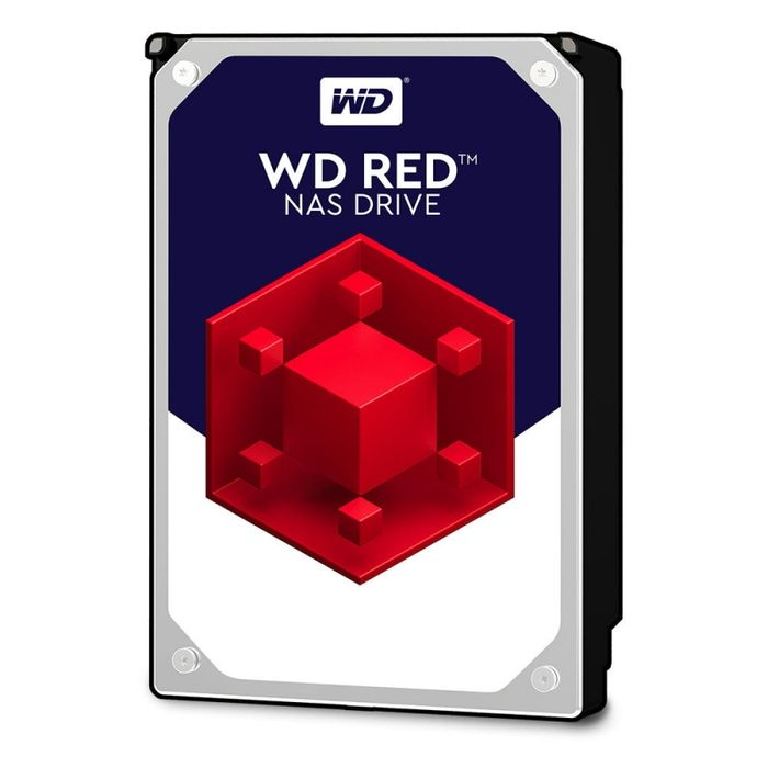 "Western Digital RED ( NAS EDITION ) Disque Dur 3""5 SATA III - 4 To  64 Mo"