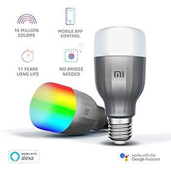 Xiaomi Mi LED Smart Bulb Blanc et Couleur 10W RVB E27 - Ampoule Connecté