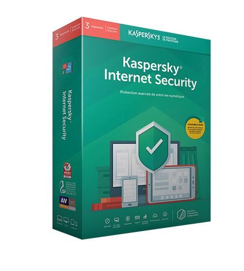 Kaspersky Internet Security 2019 3p/1an