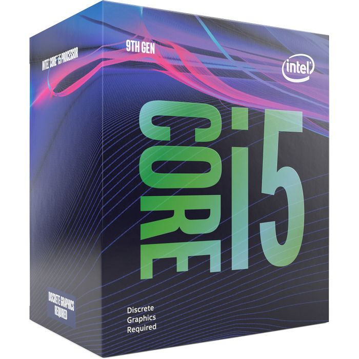 intel core i5 9400f 2.9 ghz 1 wimotic