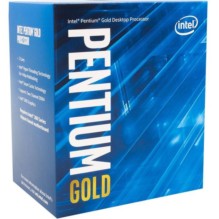 Intel Pentium Gold  G5400 ( 3.7GHz, 4Mo, UHD 610, 51W, S1151) Coffee Lake-S Boîte