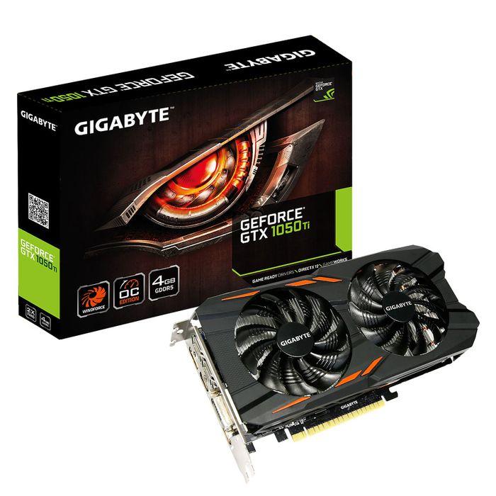 gigabyte geforce gtx 1050ti windforce oc 4g 0 wimotic