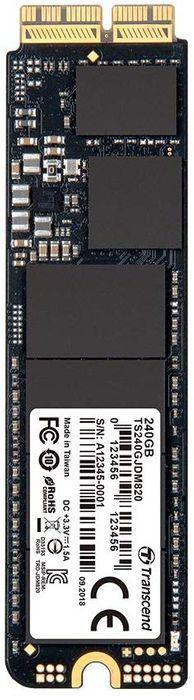 Transcend TS240GJDM820 JetDrive 820 SSD 240 Go pour Mac
