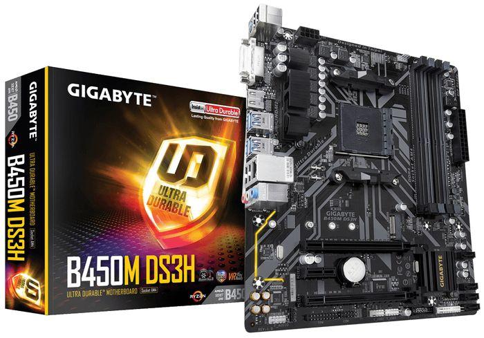Gigabyte B450M-DS3H