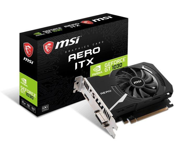 Carte Graphique MSI GeForce GT 1030 2 Go GDDR4