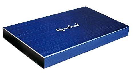 boitier externe 2.5 usb 3.0 sata connecland bleu