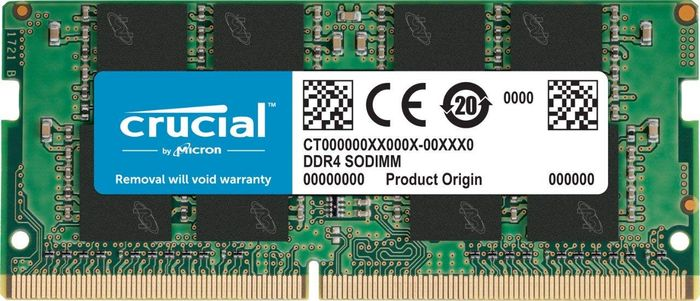MEMOIRE CRUCIAL SODIMM 8 GO DDR4 2400 MT/s PC4- 19200 CL19