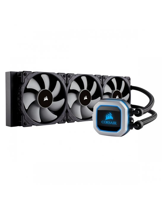 watercooling corsair h150i pro rgb avec 3 ventilateur 1 wimotic