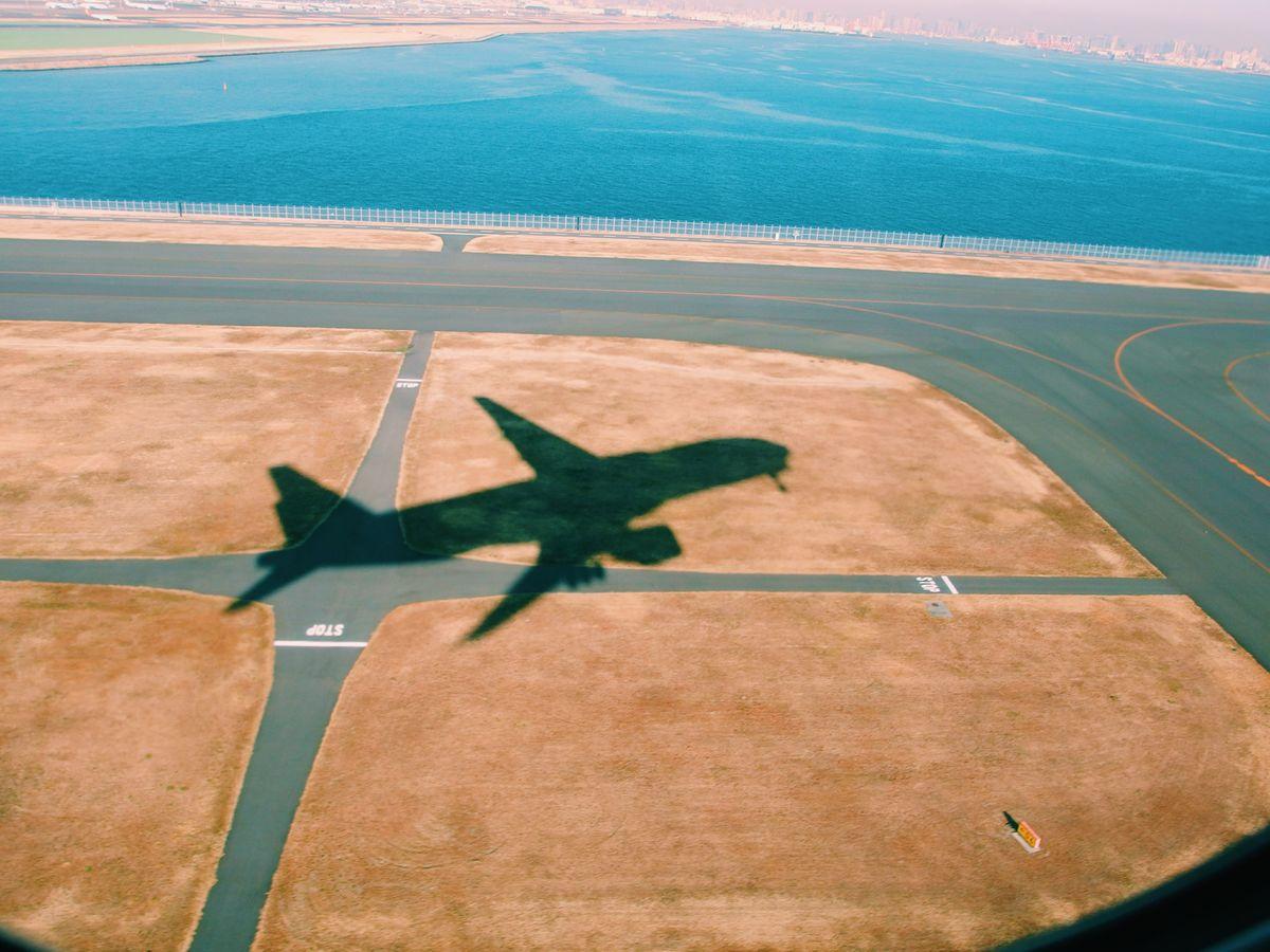 La piste de décollage