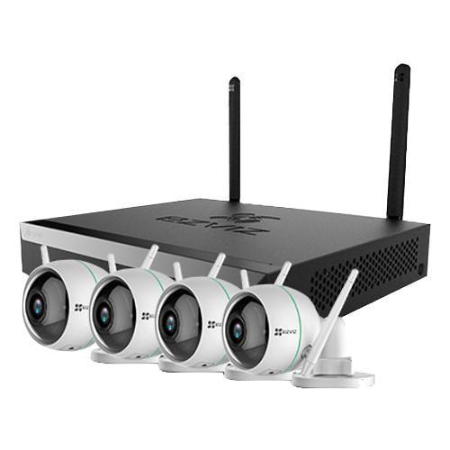 EZVIZ CS-BW3424B0-E40 4CAMERA Smart Home Wireless Security Kit