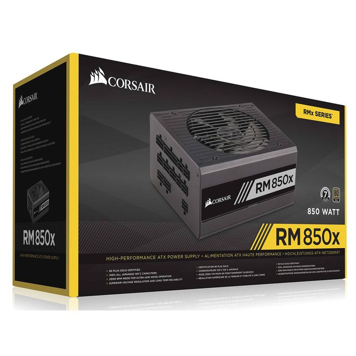 alimentation corsair rm850x 80plus gold 1 wimotic