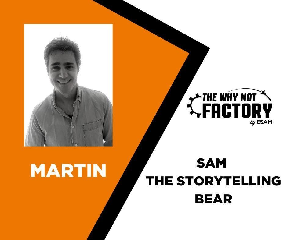 Sam The Storytelling Bear