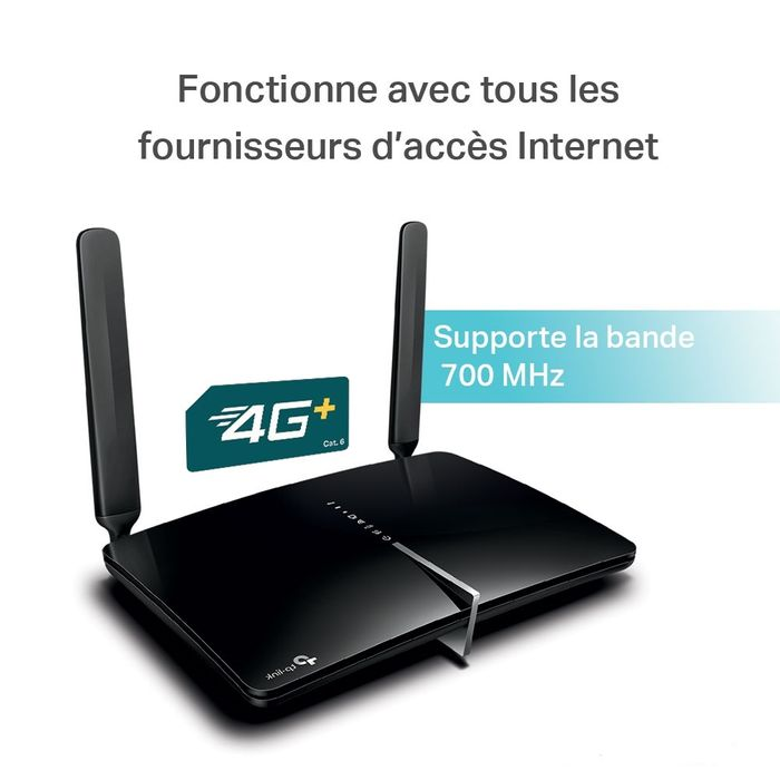 Modem/routeur 4G+ Cat. 6 WiFi 5 (AC1200) Gigabit bi-bande Archer MR600