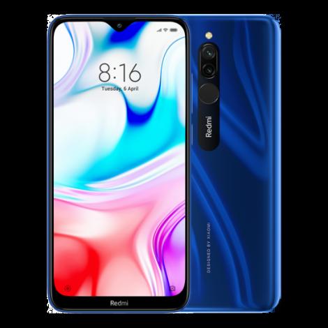 smartphone xiaomi redmi 8 64 go bleu 2 wimotic