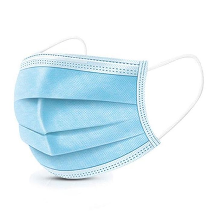 boite de masque jetable bleu 50pcs