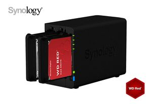 Synology DS220+ 6Go NAS 8To (2x 4To) WD Pulpe