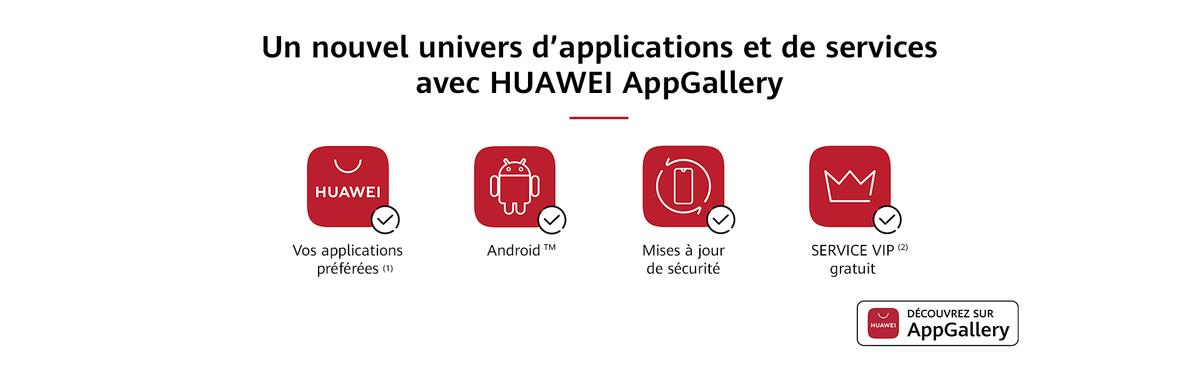 Découvrez l'AppGallery et les Services Mobiles Huawei