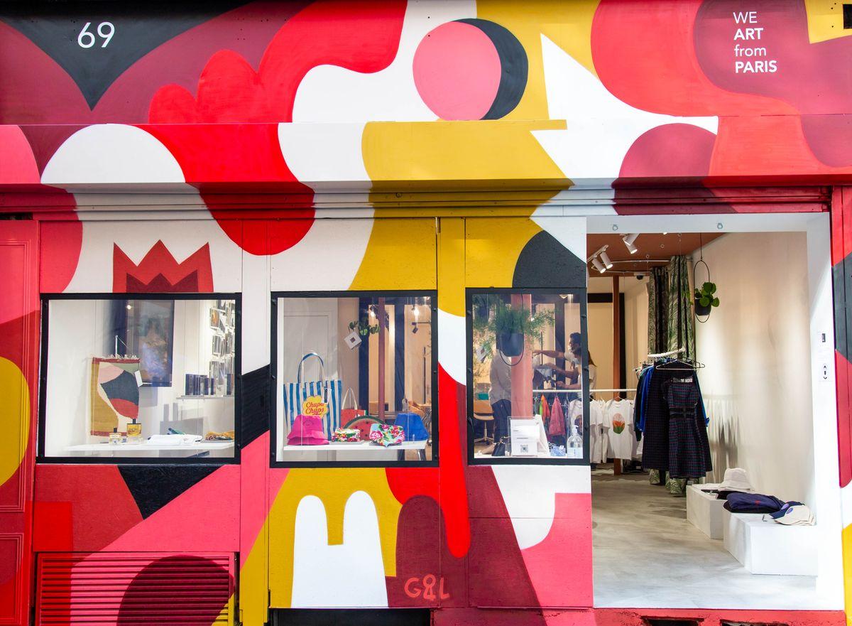 Concept Store  &  Coworking Artistique