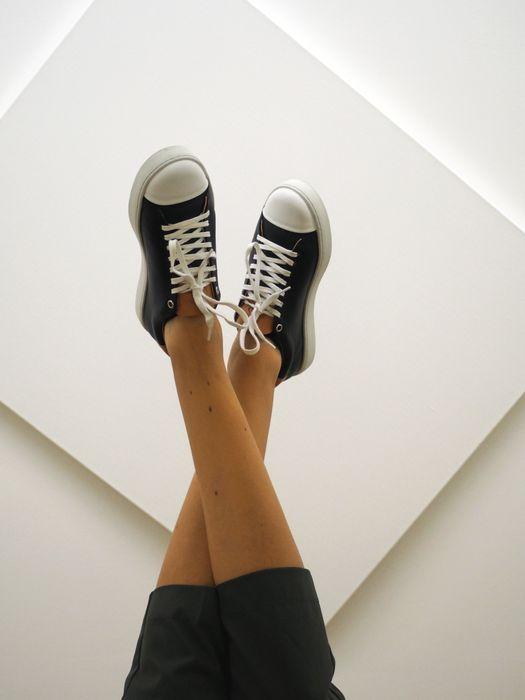Sneakers Abélia noire par Sessile
