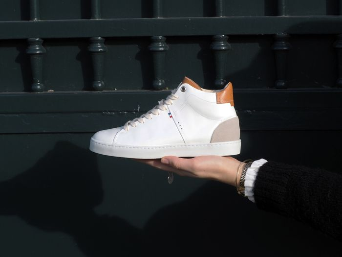 Sneakers Kauri blanche par Sessile
