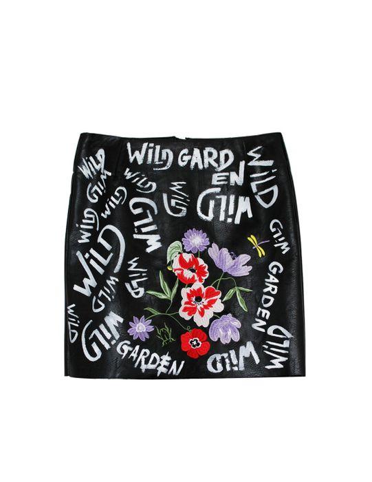 Wild garden skirt par La Poupée à Papy