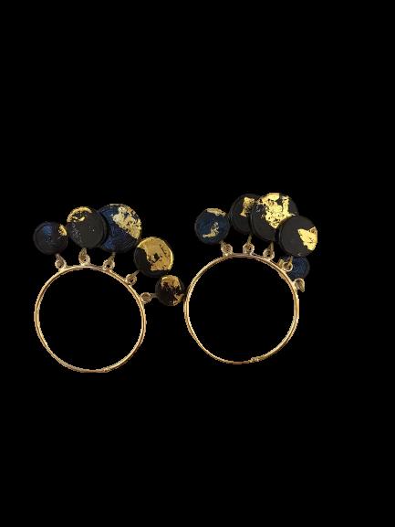 Boucles d'oreilles Créoles par Marie Flambard