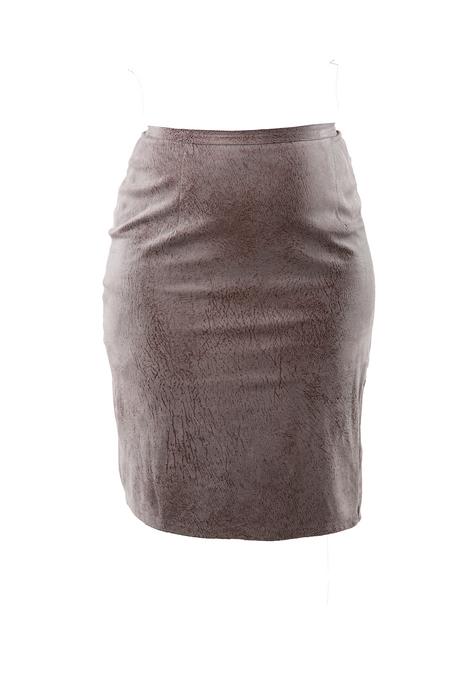 grey skirt front