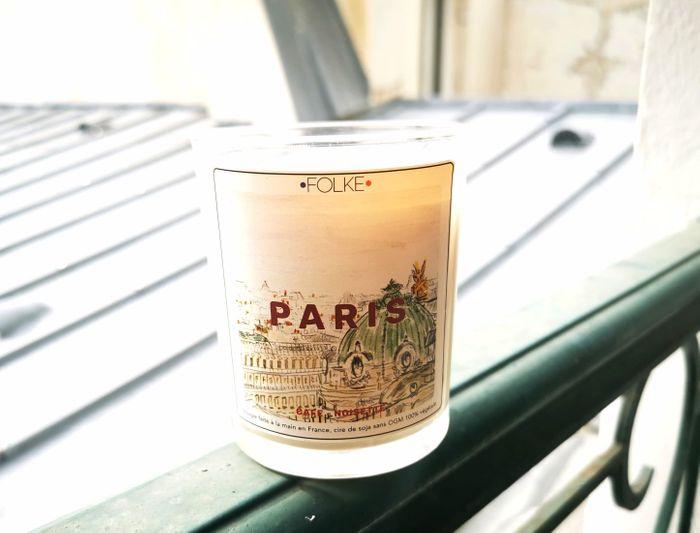 """Bougie """"Paris"""" par Folke"""