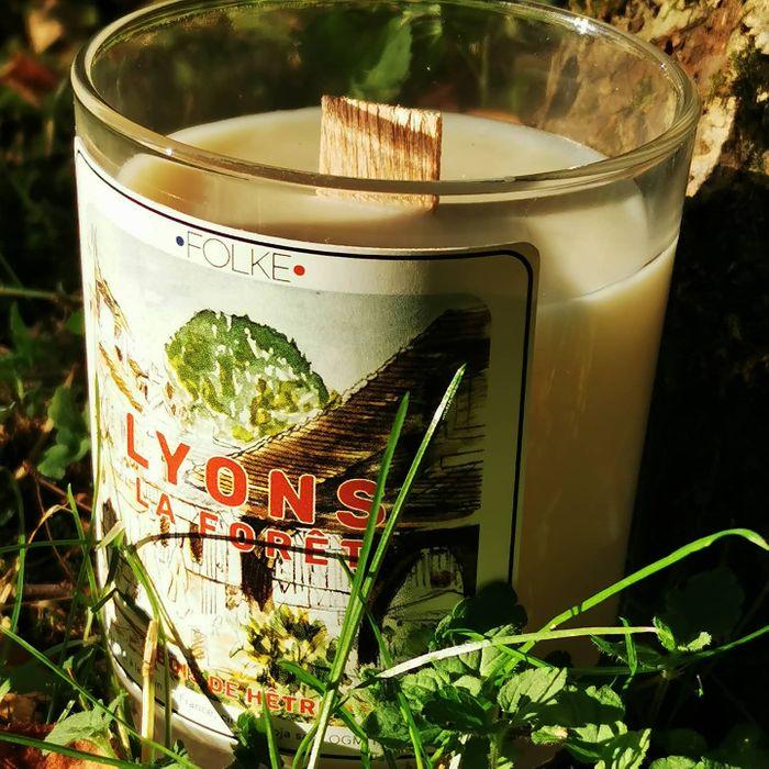 "Bougie ""Lyons la Forêt"" par Folke"