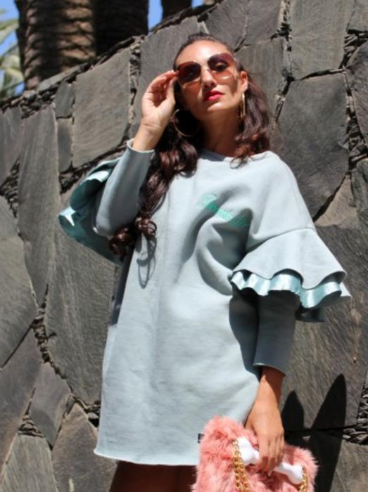 Jurassic girl dress par La Poupée à Papy